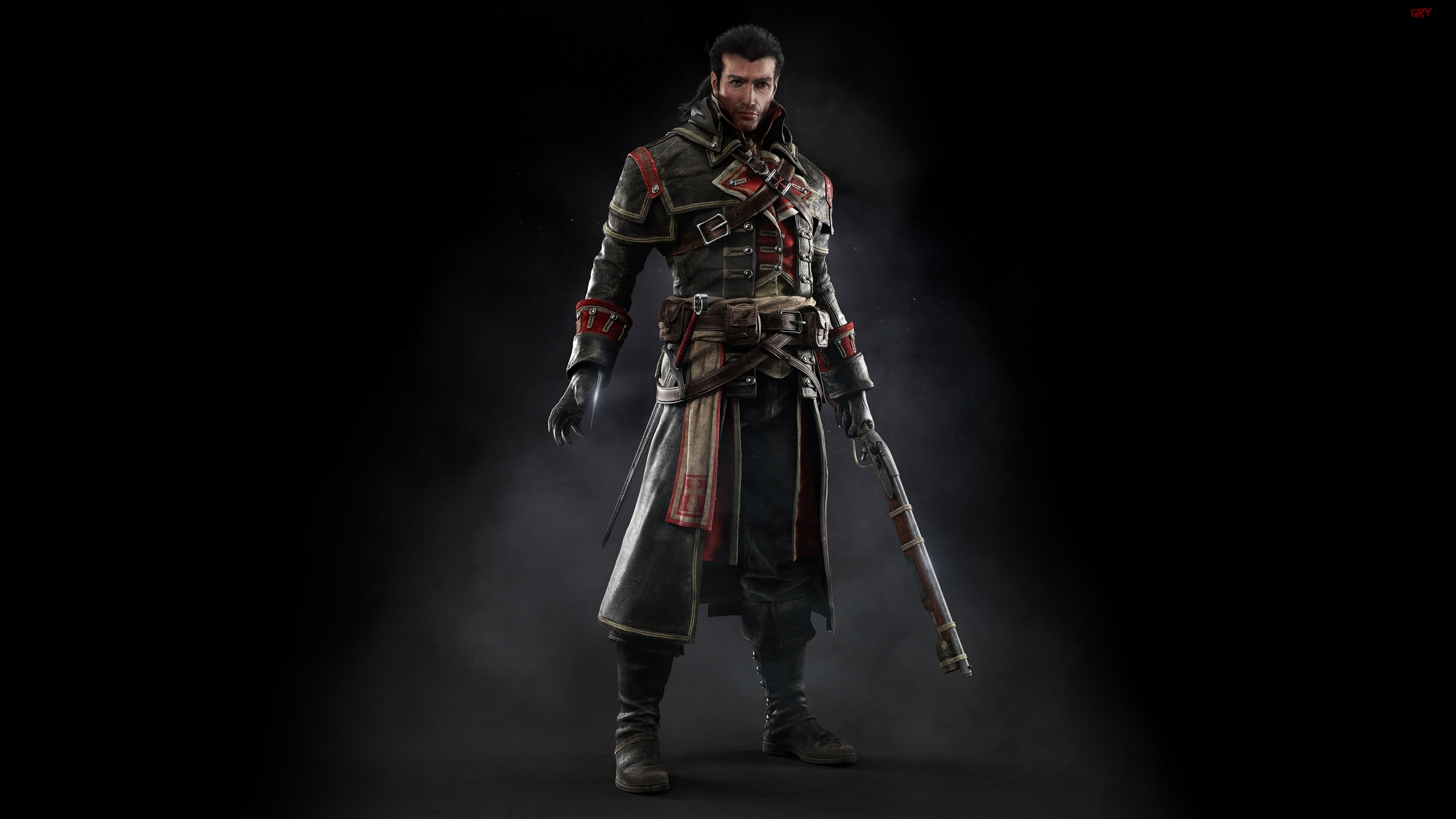 Assassins Creed Rogue, Shay Cormac, Wiatrówka, Ukryte, Ostrza